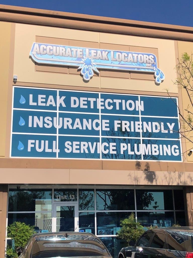 Accurate Leak Locators New Building 2020
