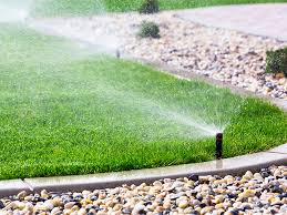 inspect sprinklers to help solve high water bills with