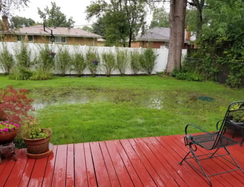 How to Avoid Flooded Backyards This Winter