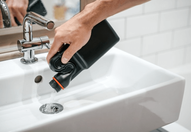 REASONS TO AVOID CHEMICAL DRAIN CLEANERS
