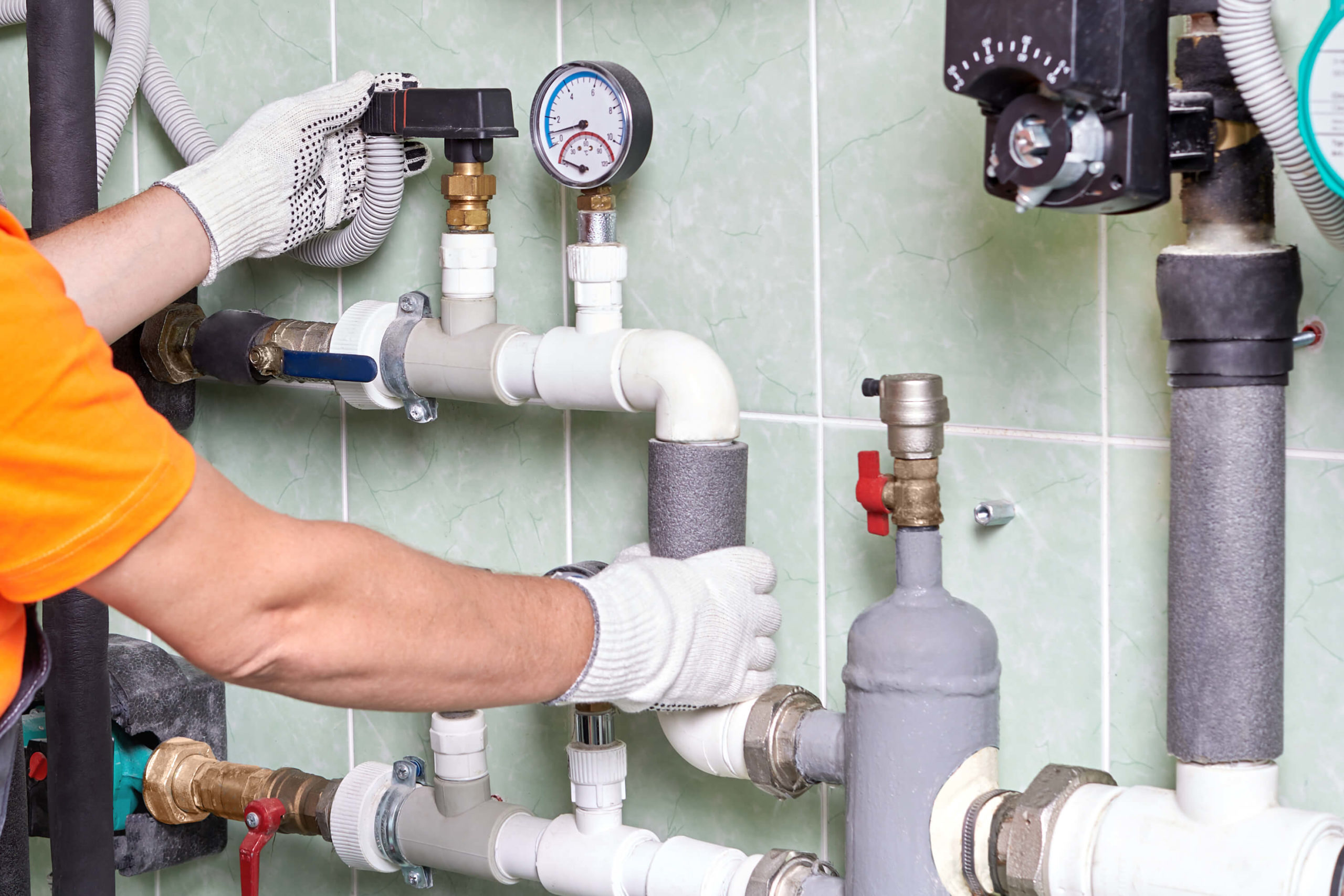commercial plumbing is a different job than most residential plumbing